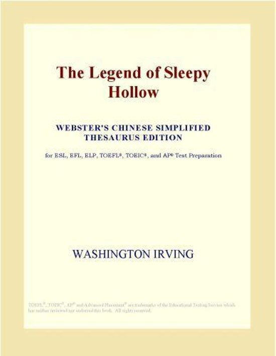 The Legend of Sleepy Hollow (Webster's Chinese Simplified Thesaurus Edition)