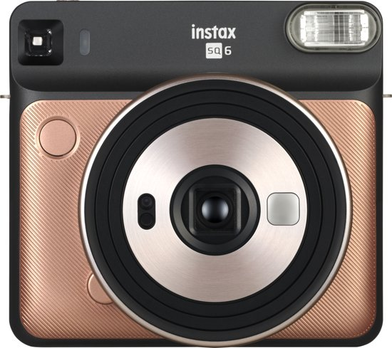 Fuji Instax SQ 6 Square camera Blush Gold