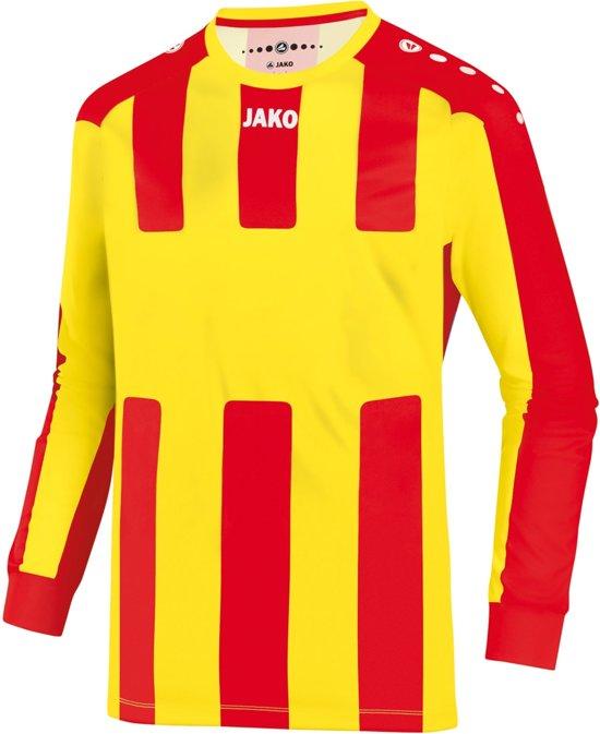 Jako Milan Shirt LM - Voetbalshirt - Mannen - Maat L - Geel