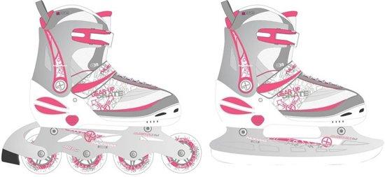 100% topkwaliteit nieuwe aankomst top mode bol.com | Nijdam Skate/schaats Combo Junior Roze/zilver Maat ...