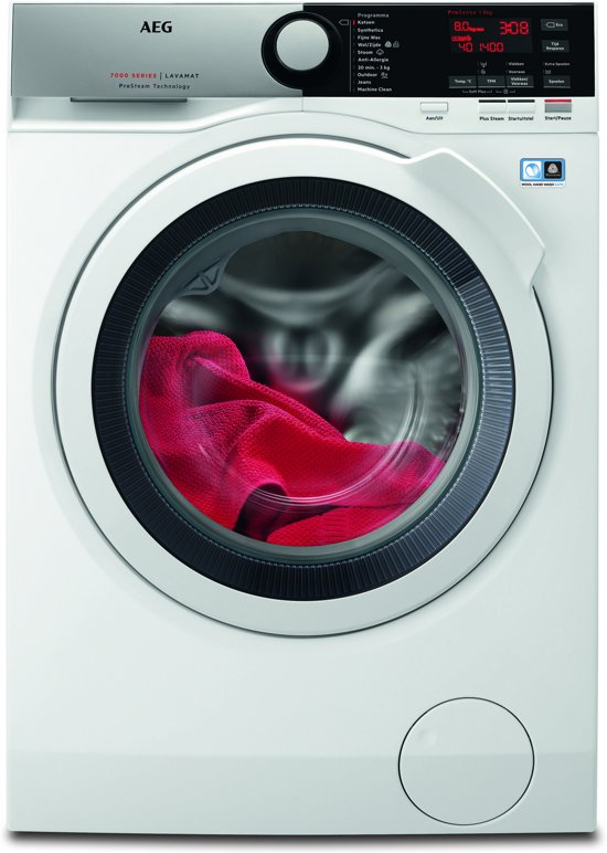 AEG L7FE86EW - 7000 serie - ProSteam - Wasmachine
