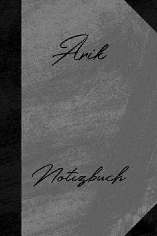 Arik Notizbuch