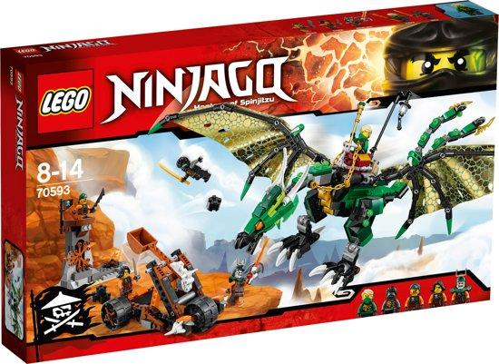 bol.com | LEGO NINJAGO De Groene NRG Draak - 70593, LEGO ...