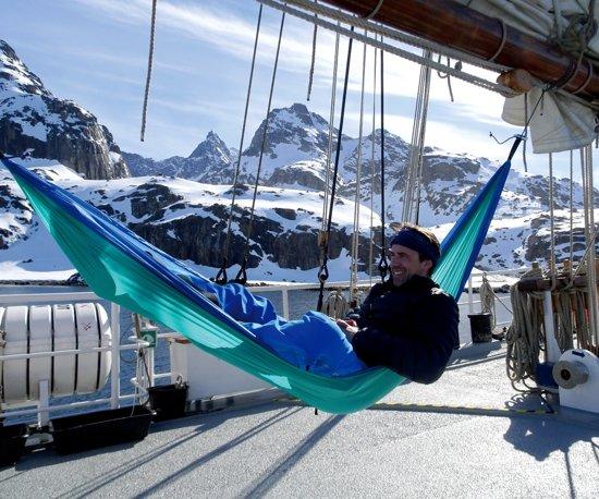 Reishangmat 'Adventure' ice-blue