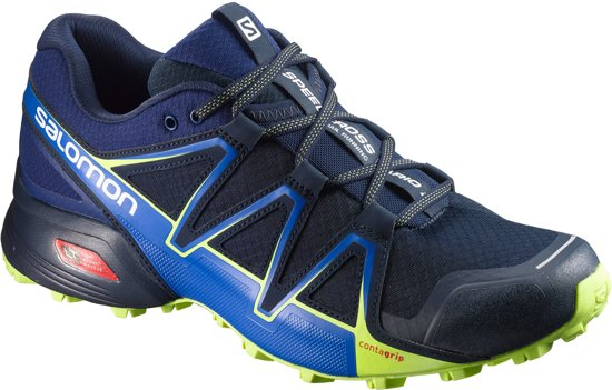Salomon Speedcross Vario 2 Sportschoenen Heren - Navy Blazer/ Nautical Blue / Lime Punch