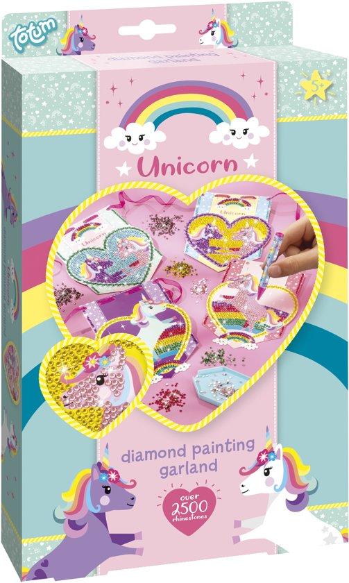 Totum Unicorn Diamond painting - knutselset