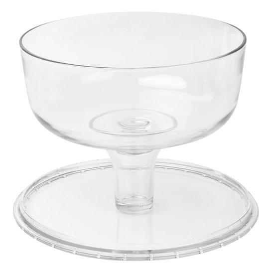Trifle Schaal Op Voet.Borgonovo Palladio Taartschotel Op Voet Met Deksel 31 Cm