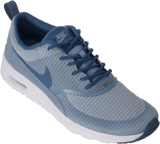 72ae2d64599 Nike Air Max Thea Sneakers Dames Sportschoenen - Maat 37.5 - Vrouwen -  grijs/blauw