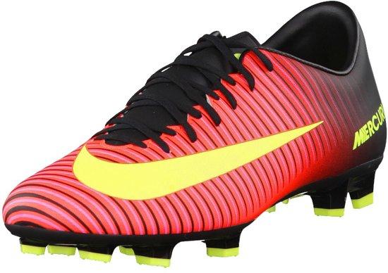 new styles 08112 78ecc Nike Mercurial Victory VI FG Voetbalschoenen - Maat 42.5 - Mannen -  roodgeel