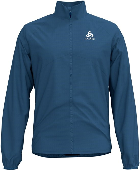 Odlo Jacket Zeroweight Hardloopjas Heren - Ensign blue