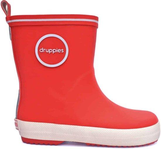 Druppies dameslaars Vuurrood - rood - 38