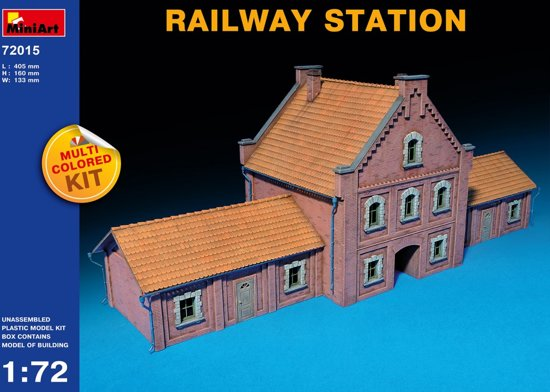 Miniart - Railway Station (Min72015)