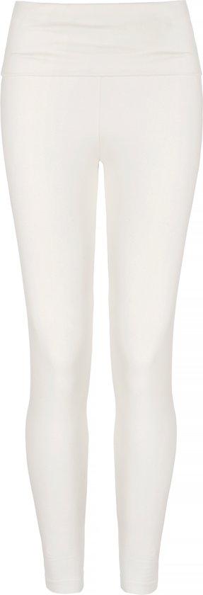 """Yoga-Leggings """"OM"""" - ivory XL Loungewear broek YOGISTAR"""