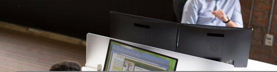 HP ProDisplay P240va 23.8'' Full HD LED Zwart computer monitor