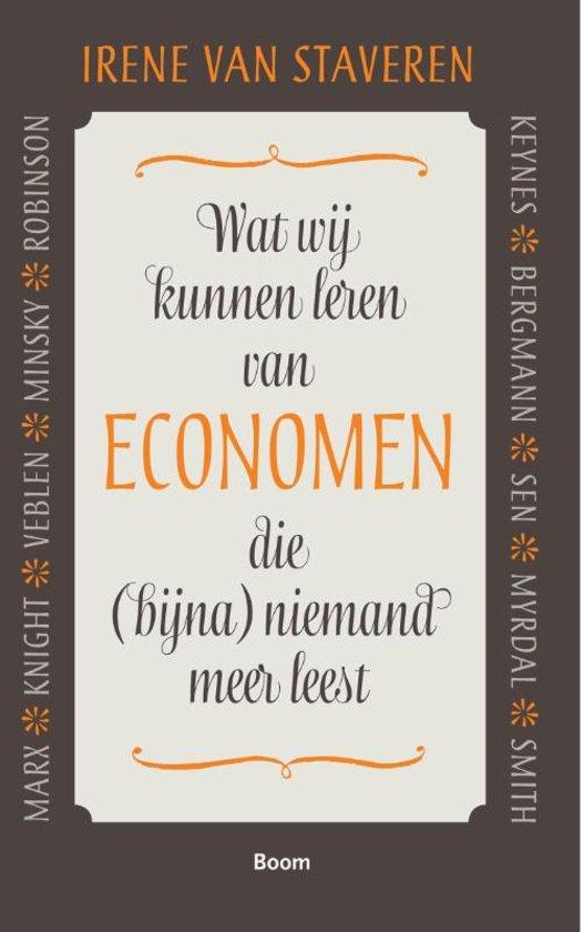 Wat wij kunnen leren van economen die (bijna) niemand meer leest