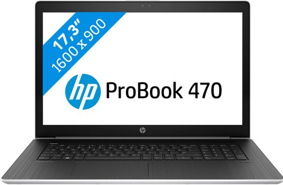 HP ProBook 470 G5 i5-8gb-256ssd (HD scherm)
