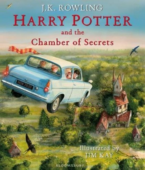 Harry Potter and the Chamber of Secrets - Illustrated Edition