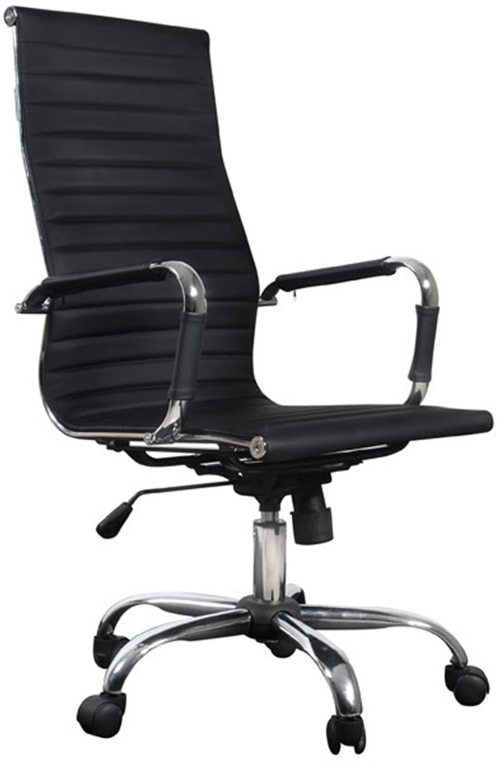 Vidaxl bureaustoel bureaustoel business chroom for Bureau stoel
