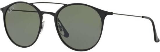 Ray-Ban RB3546 186/9A - zonnebril - Zwart / Groen Klassiek G-
