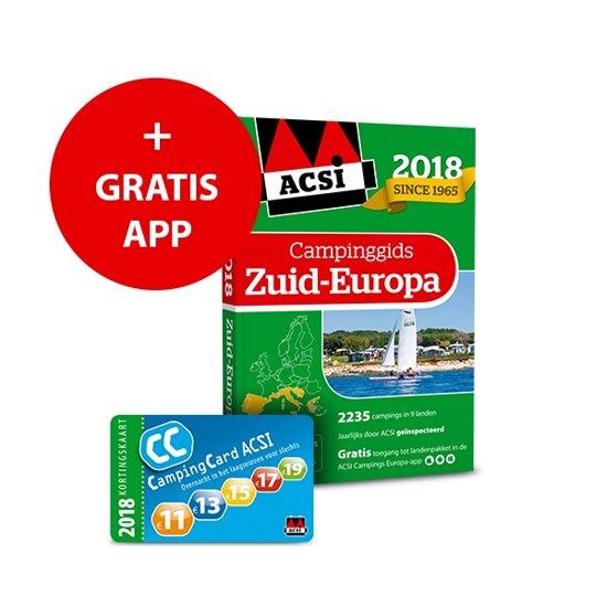 ACSI Campinggids - ACSI Campinggids Zuid-Europa cover