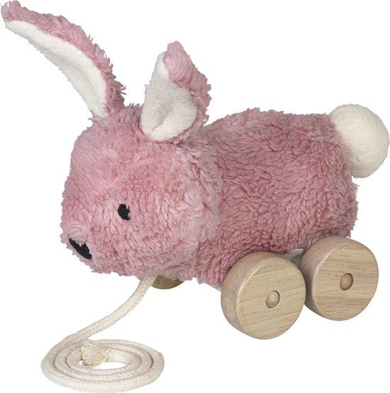 Franck & Fisher - Trekspeeltje Mingus konijn roze