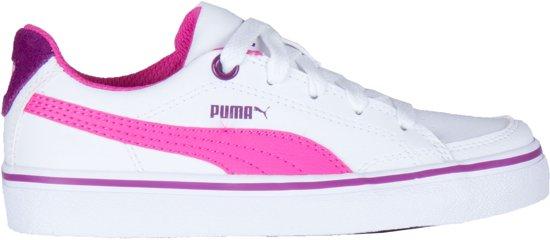 3dfc9cd6b91 Puma Sneakers - Maat 29 - Unisex - wit/roze/paars