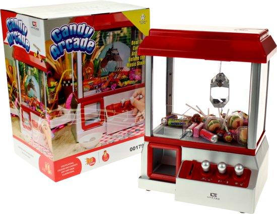 Thumbnail van een extra afbeelding van het spel United Entertainment - Candy Grabber - Snoepmachine