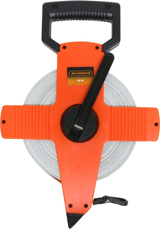 Skandia Landmeter - Fiber Band 50m