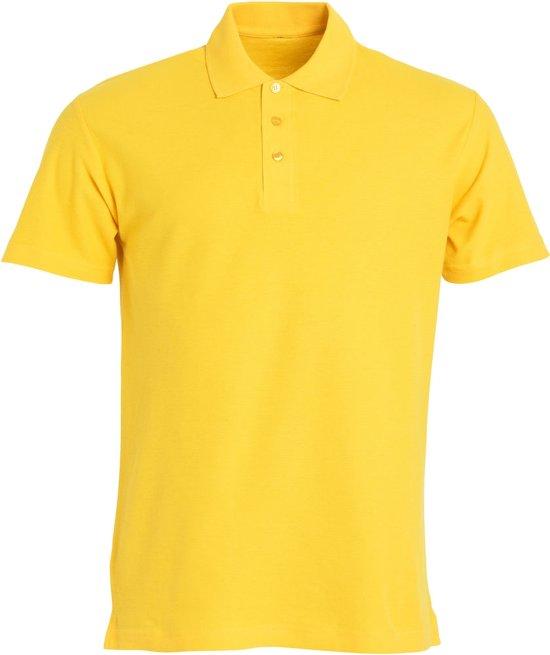Clique Basic heren polo lemon xs