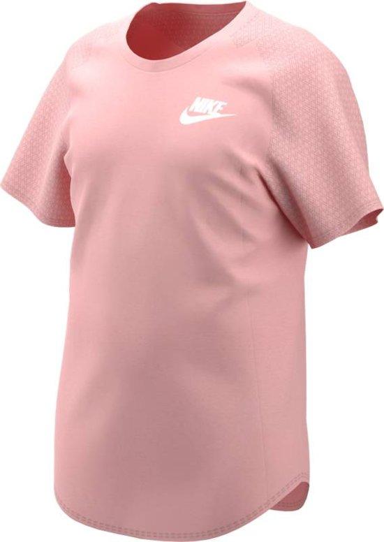 Nike Sportswear T-Shirt Sporttanktop Kinderen - Roze - Maat 128