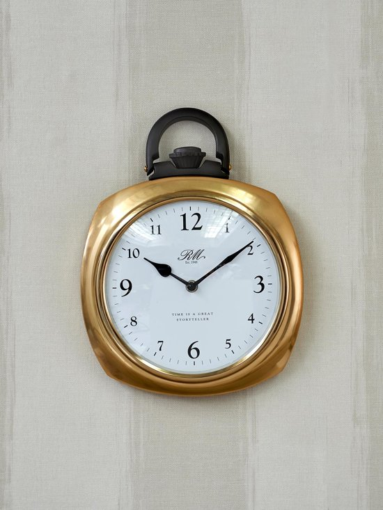 Rivièra Maison Time Is... Pocket Watch Wandklok