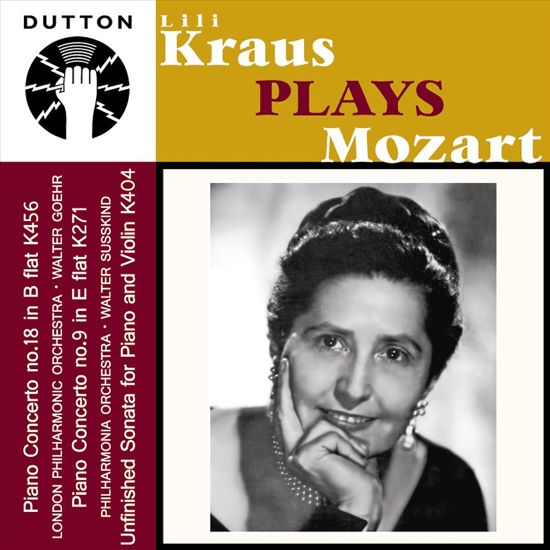Lili Kraus Plays Mozart