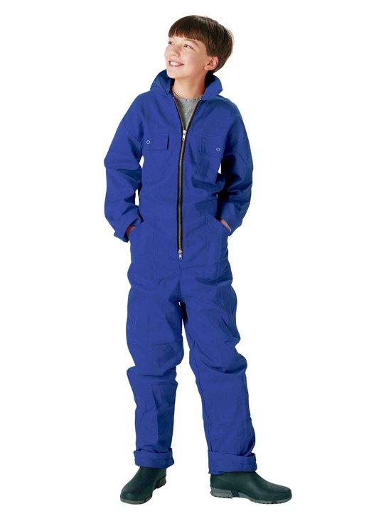Størvik Kinderoverall Kinderen Blauw - Maat 92 - Nicky