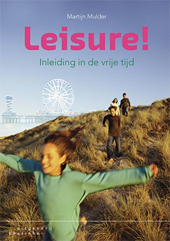 Boek cover Leisure! van Martijn Mulder (Paperback)