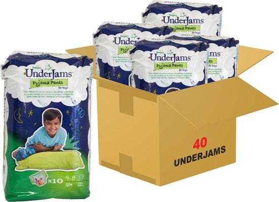Pampers Underjams - Luierbroekjes S/M boy 4 x 10 stuks