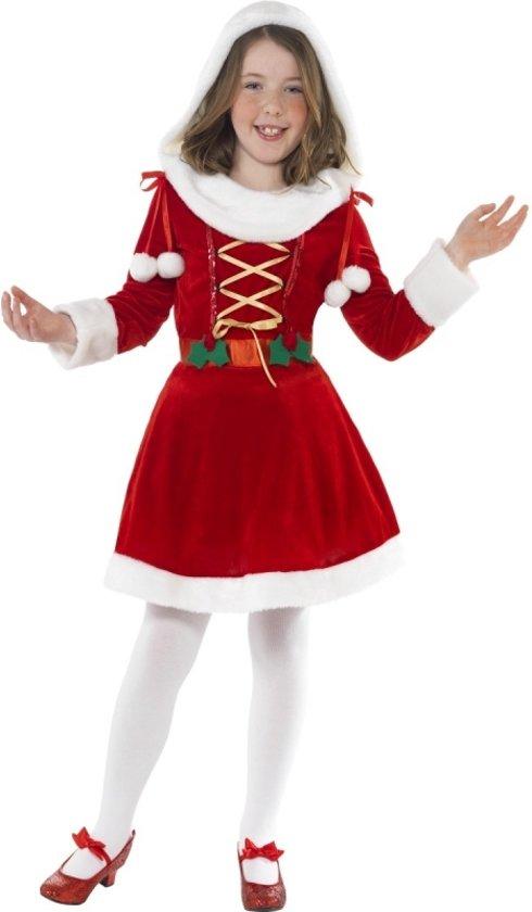 cf1b61c9e0c588 Santa kerst jurkje voor meisjes 146-158 (10-12 jaar)
