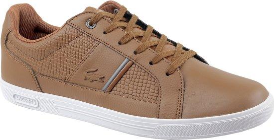 Brun Europe Chaussures Lacoste Pour Les Hommes xRx0Y