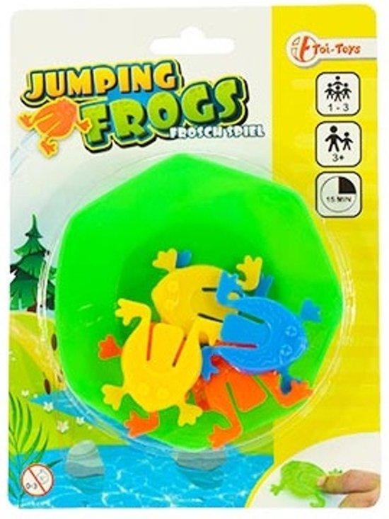 Toi-toys Jumping Frogs Kikkerspel 7- Delig 9.5 Cm