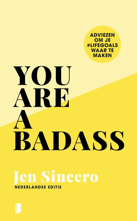 Boek cover You are a badass van Jen Sincero (Onbekend)