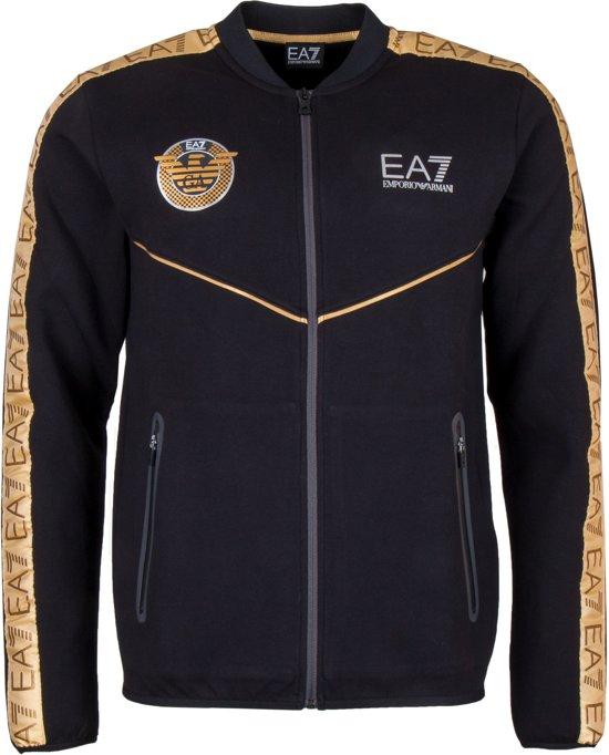 | EA7 Vest Maat XL Mannen zwartgoud