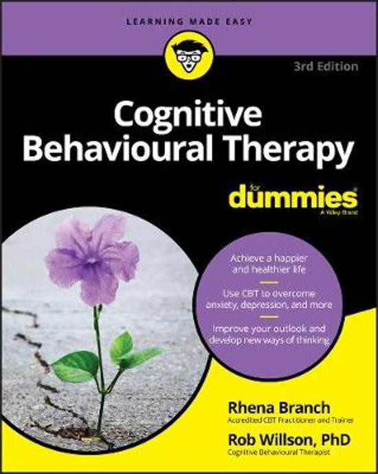 Afbeelding van Cognitive Behavioural Therapy For Dummies