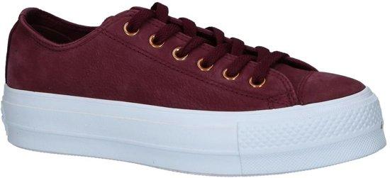 adeb12d90bb Converse All Star Lift Clean Bordeaux Sneakers