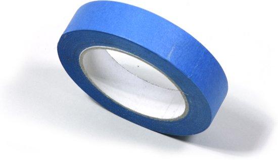 Professionele Schilderstape Blauw - Afplaktape - Masking Tape UV - 25mm x 50M