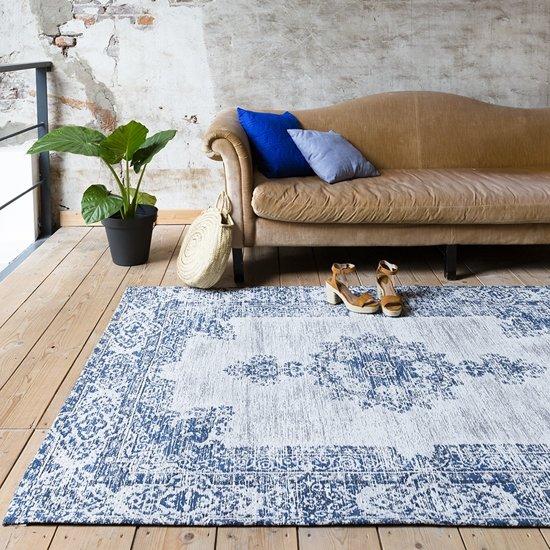 06c40ea5363 Vintage vloerkleed - Dreams Diep blauw 140x200cm
