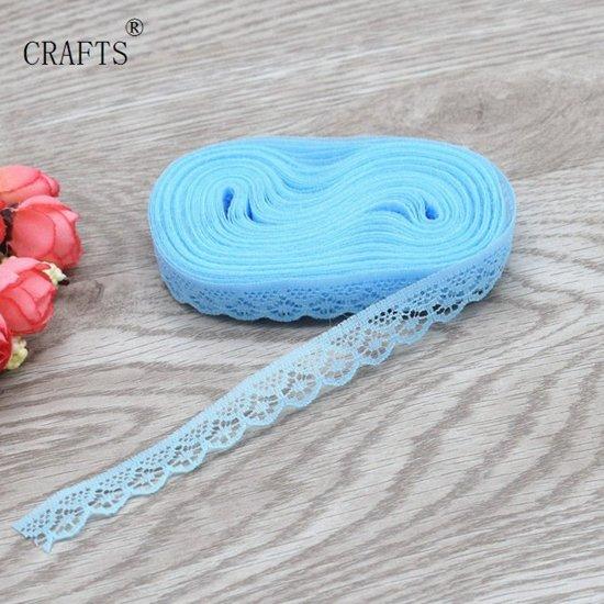 3x 10meter Ribbon Lint | Decoratief lint | Knutselen | Versieren | Blauw