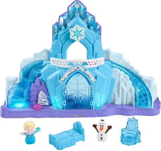 Fisher-Price Little People Disney Frozen Elsa's Ijspaleis - Speelfigurenset