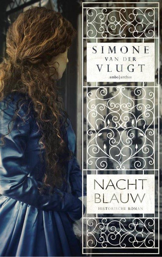 Boek cover Nachtblauw van Simone van der Vlugt (Paperback)