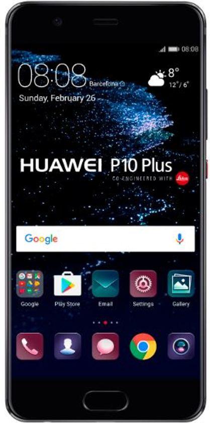 Huawei P10 Plus - 128 GB - Zwart