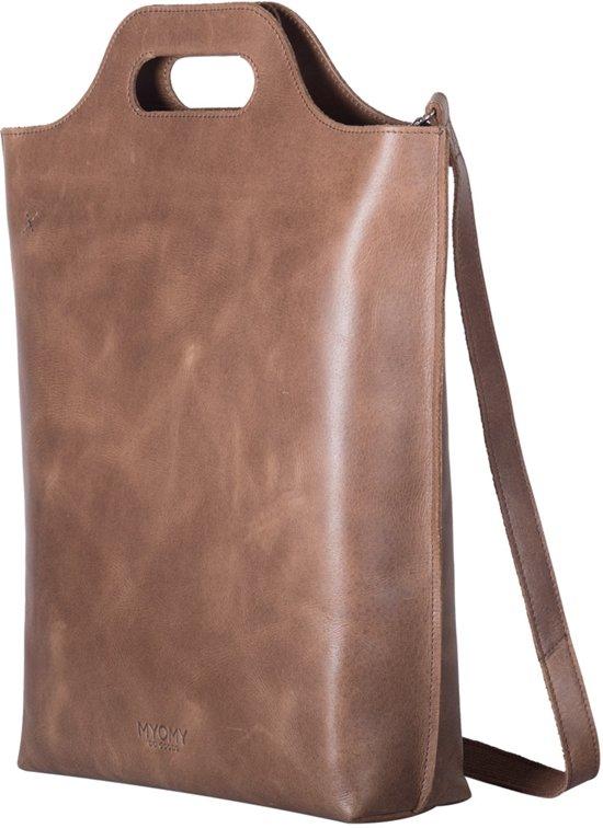 handtassen Myomy Shopper carry bruin 3R4Aj5L