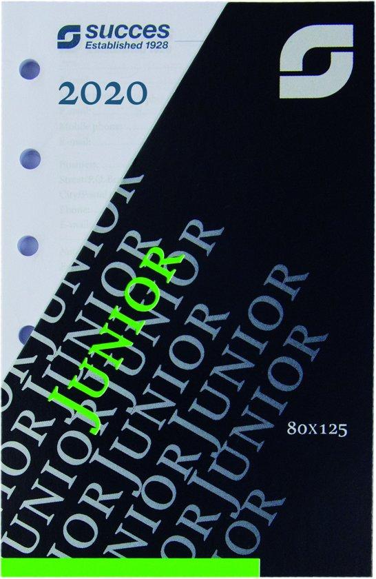 Afbeelding van Succes Calendarium Junior 7 Dagen 4-Talig 2020 (Wit Papier)